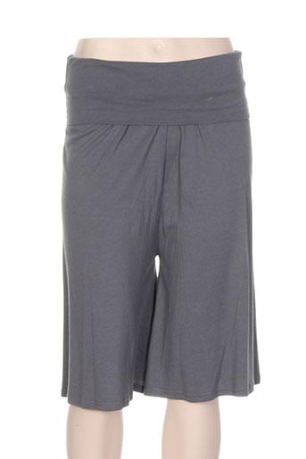 surkana shorts / bermudas femme de couleur gris