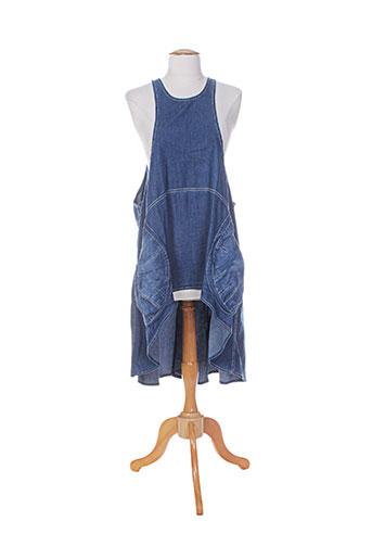 alembika tuniques femme de couleur bleu