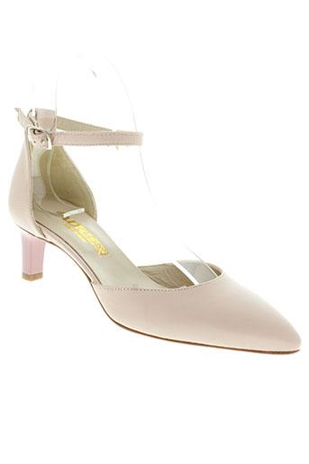 adrien chaussures femme de couleur rose