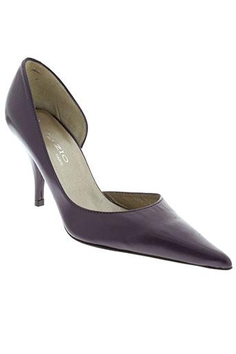 lazio escarpins femme de couleur violet