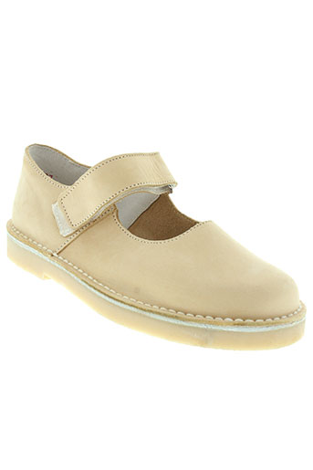hit et shoes villes fille de couleur beige