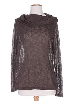 Produit-T-shirts / Tops-Femme-UN POINT C EST TOUT