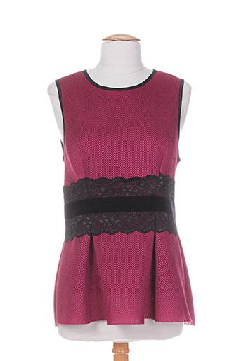 pois chemises femme de couleur rose