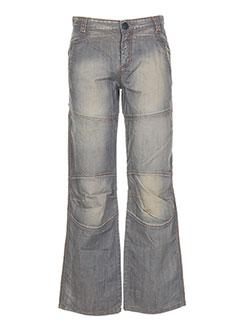 Jeans coupe large gris IKKS pour garçon