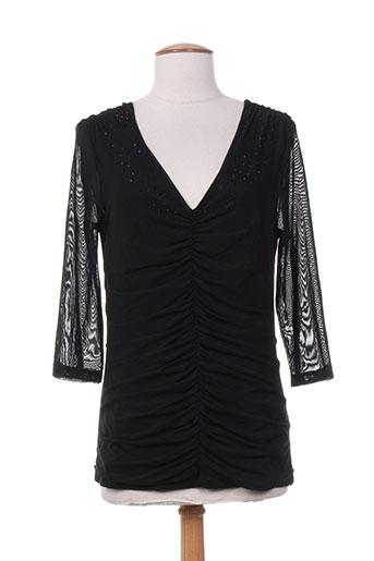vera mont chemises femme de couleur noir