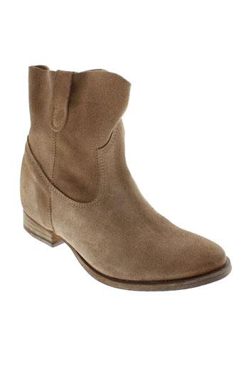 tiffosi chaussures femme de couleur beige