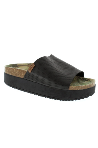 mtng sandales et nu et pieds femme de couleur noir
