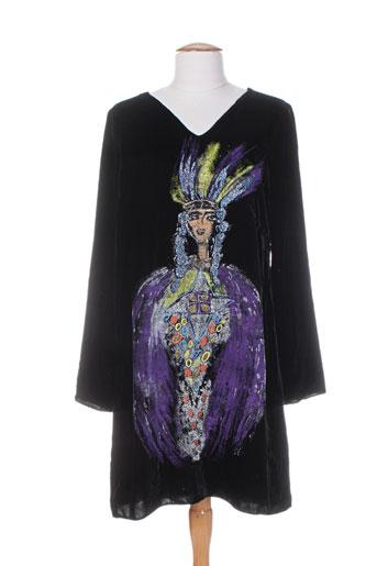 louise della tuniques femme de couleur noir