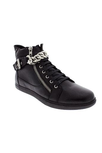 uomo chaussures homme de couleur noir