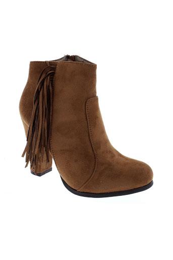 adluum chaussures femme de couleur marron