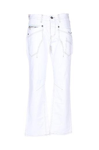 freeside jeans homme de couleur blanc