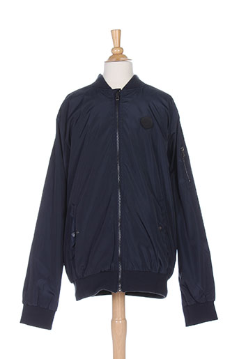 tiffosi manteaux garçon de couleur bleu