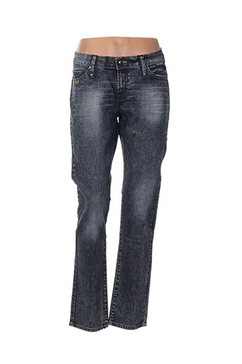 eden rose jeans femme de couleur bleu