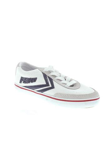feiyue chaussures garçon de couleur blanc