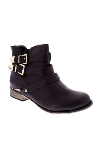 creamy moda chaussures femme de couleur noir