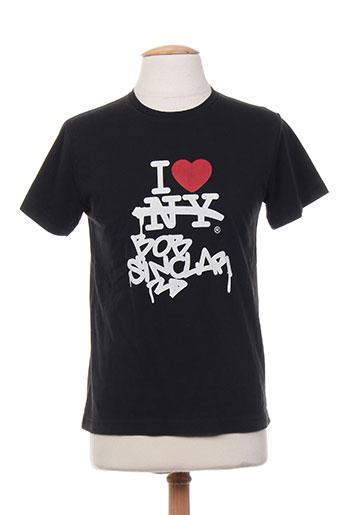 bob sinclar t-shirts homme de couleur noir