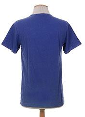 T-shirt manches courtes bleu BOB SINCLAR pour homme seconde vue