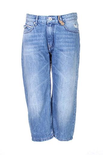kaporal pantacourts garçon de couleur bleu