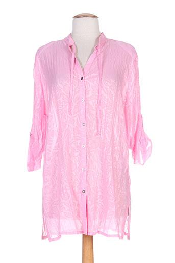 eugen klein chemises femme de couleur rose