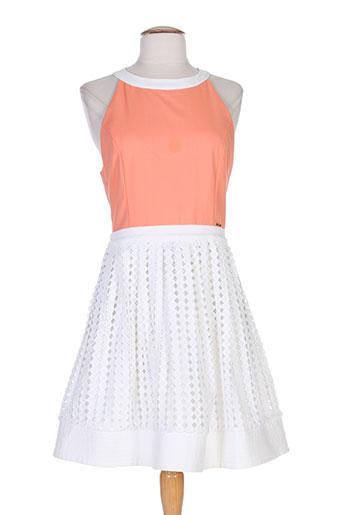 fracomina robes femme de couleur orange