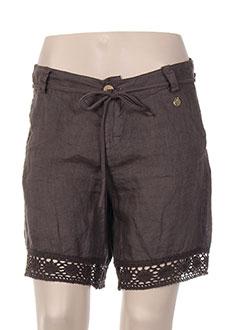 Produit-Shorts / Bermudas-Femme-NANA NUCCI