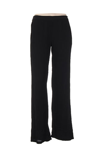 gaudi pantalons femme de couleur noir