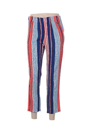 gaudi pantalons et decontractes femme de couleur bleu