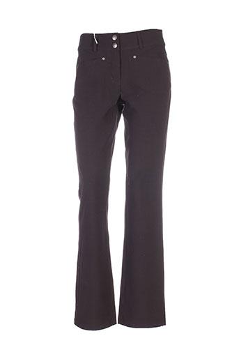 jensen pantalons et decontractes femme de couleur marron