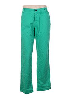 Pantalon casual vert TOM TAILOR pour homme