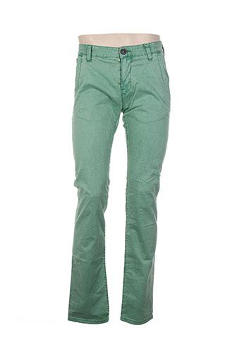 tom tailor pantalons homme de couleur vert