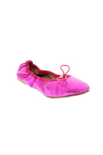 les tropeziennes chaussures fille de couleur rose