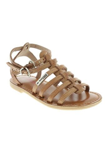 les et tropeziennes sandales et nu et pieds fille de couleur marron