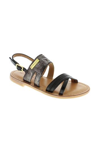 les tropeziennes chaussures fille de couleur noir