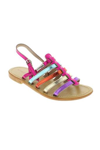 les et tropeziennes sandales et nu et pieds fille de couleur rose