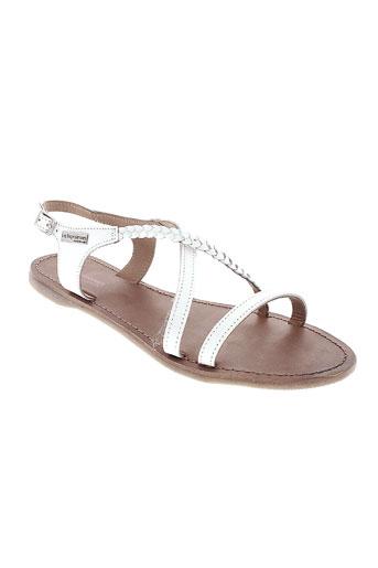 les et tropeziennes sandales et nu et pieds femme de couleur blanc
