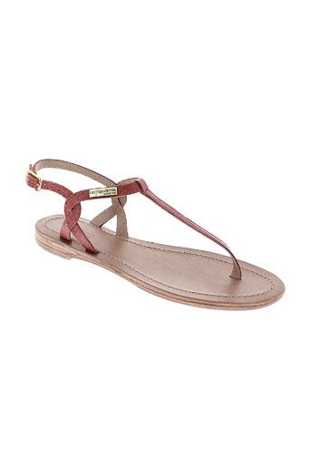 les et tropeziennes sandales et nu et pieds femme de couleur rouge