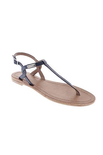 les et tropeziennes sandales et nu et pieds femme de couleur bleu