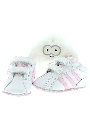 adidas boots enfant de couleur blanc