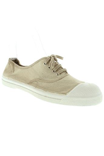 bensimon chaussures femme de couleur beige