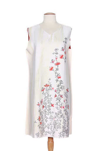 animapop robes et mi et longues femme de couleur blanc