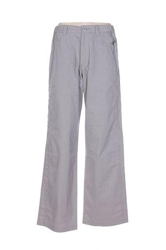 hawk pantalons femme de couleur gris