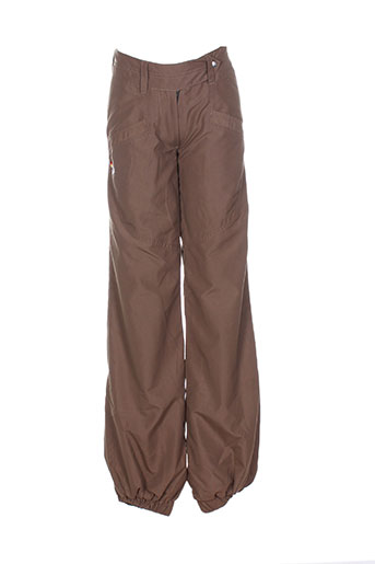 kana beach pantalons homme de couleur marron
