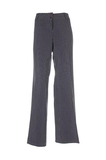 an' ge pantalons femme de couleur gris