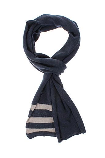 blend echarpes et gants femme de couleur bleu