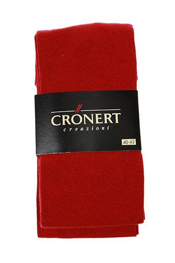 cronert accessoires femme de couleur rouge