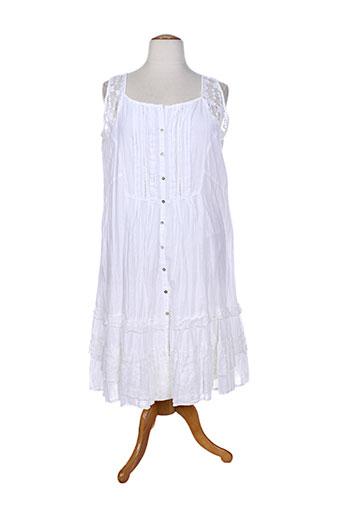 agathe et et et louise robes et longues femme de couleur blanc