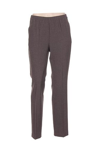 brandtex pantalons et citadins femme de couleur marron
