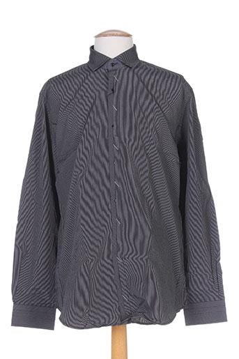 cap 10 ten chemises homme de couleur noir
