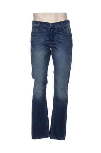 mustang pantalons et decontractes homme de couleur bleu