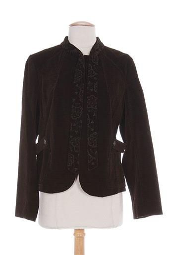 camage vestes femme de couleur marron